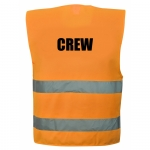CREW Warnweste in 4  größen 4XL/5XL Orange