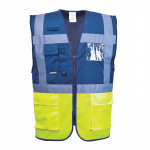 Portwest Profi Warnweste Executive - two tone royalblau / gelb (Auslaufartikel)
