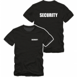 Security T-Shirt schwarz S-5XL