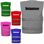 Volunteer Warnweste Sonderfarbe