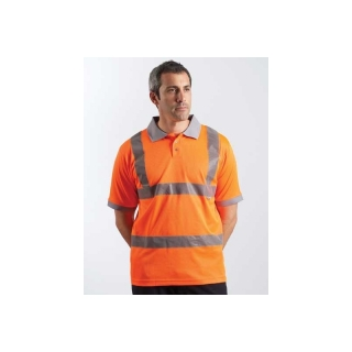 Dickies Hochsichtbares Worker Polo Orange