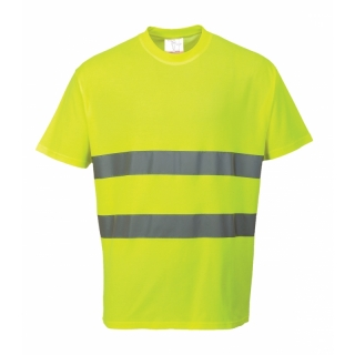 Hi-Cool T-Shirt Gelb ISO 20471