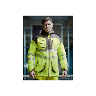 Regatta Tactical Hi-Vis Parka Orange/Grey M