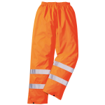 Regen Warnschutz Hose Orange EN 20471 / EN 343
