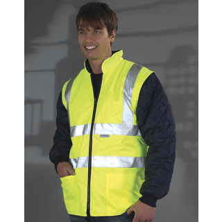 Fleece Bodywarmer EN ISO 20471