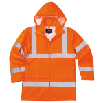 Warnschutz Regenjacke Orange EN 20471 / EN 343