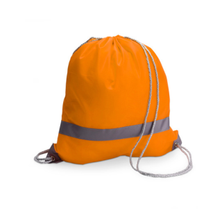 Backpack Turnbeutel Warnbeutel Reflektierend Orange