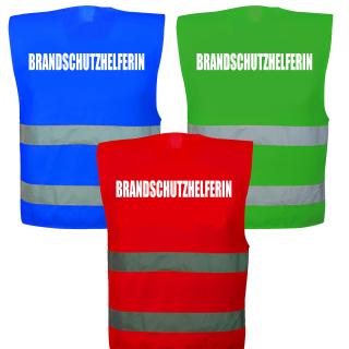 2 Farben zur Auswahl 3 Größen Warnweste Neon