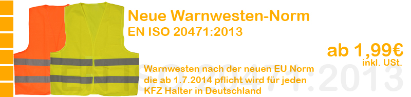 warnweste executive two tone rot gelb gr e 2xl 12 90. Black Bedroom Furniture Sets. Home Design Ideas